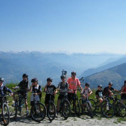 séjour jeune 6-18 ans nendaz suisse vtt bike